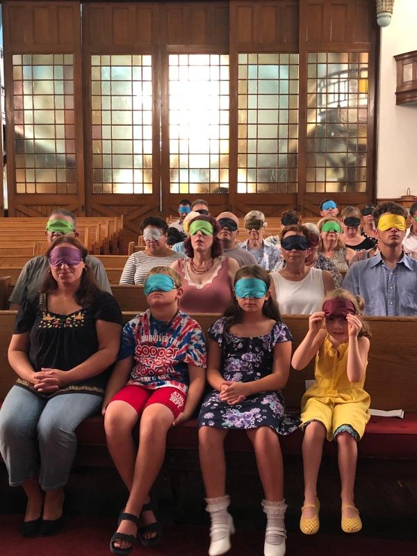 Blind congregation